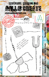 AALL and Create Clear A5 Stamp Set #272 - Thankful Petals